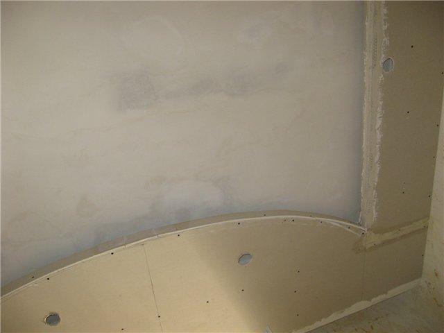 Затирка подвесного потолка
