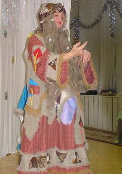 Костюм бабы яги своими руками для взрослого 876