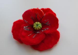 Маковый цветок своими руками