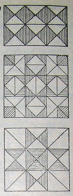 Орнаменты для коврика