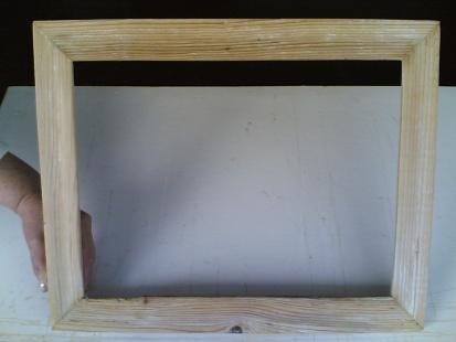 Сделать рамку зеркала из дерева