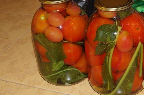 Как солить помидоры
